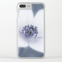 Just A Little Wildflower Clear iPhone Case