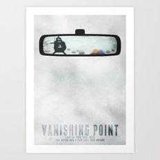 Vanishing point Art Print