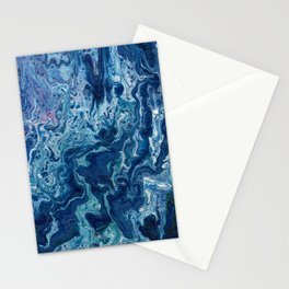 Blueberry Ripple Stationery Cards
