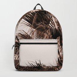 Palm tree top monochrome Backpack