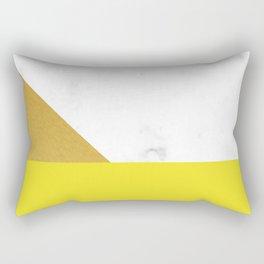 yellow marmor Rectangular Pillow