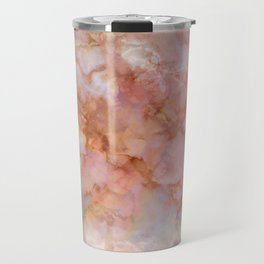 Beautiful & Dreamy Rose Gold Marble Travel Mug