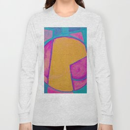 Geometric Reconstruction Long Sleeve T-shirt