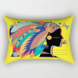 Native Indian Rectangular Pillow
