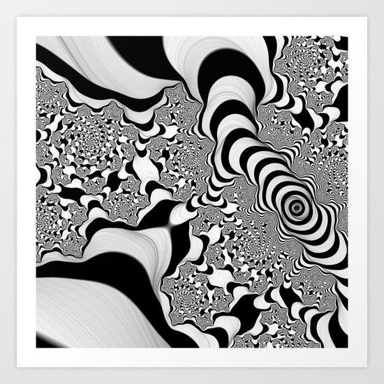 Into Infinity Art Print