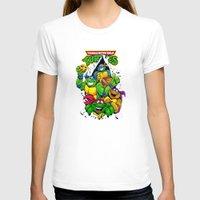 tmnt T-shirts featuring TMNT by Hisham Al Riyami