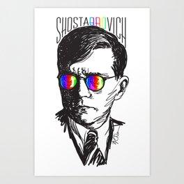 Shostabrovich Art Print