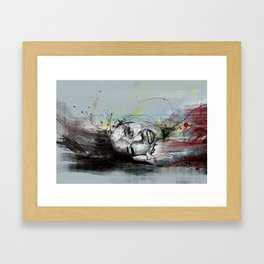 about joy Framed Art Print