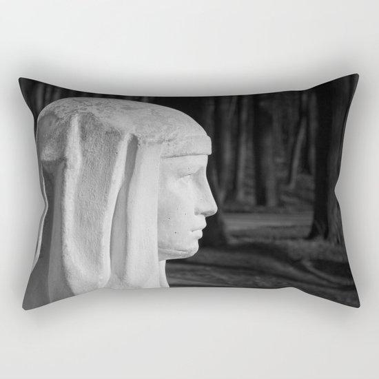 frozen profile Rectangular Pillow