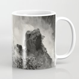 Strength against the waterfall Coffee Mug