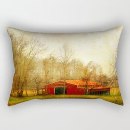Flat Fork Barn Rectangular Pillow
