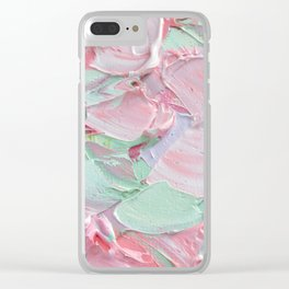 Pink Spring Clear iPhone Case