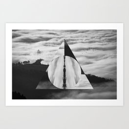 The Tale of Three Brothers - Deathly Hallows Art Print