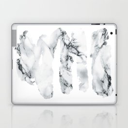 Marble stains Laptop & iPad Skin
