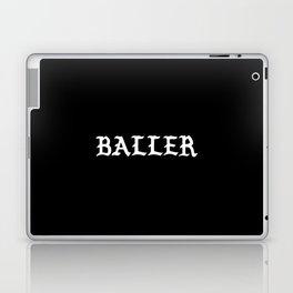 Typographic Baller Hand Lettering Laptop & iPad Skin
