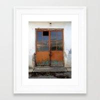 doors Framed Art Prints featuring Doors by aeolia