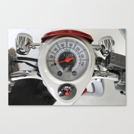 indicator speed 3 Canvas Print