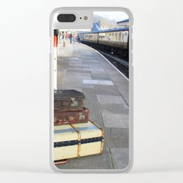 Cases At The Old Railway Station Clear iPhone Case