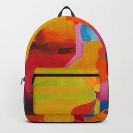 Portrait Girl Backpack