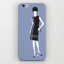 lady 6 iPhone Skin