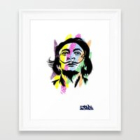 salvador dali Framed Art Prints featuring Salvador Dali by Art of Fernie