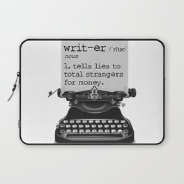 Writer Defined Laptop Sleeve