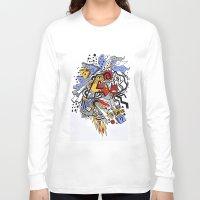 random Long Sleeve T-shirts featuring Random by waldy chavez