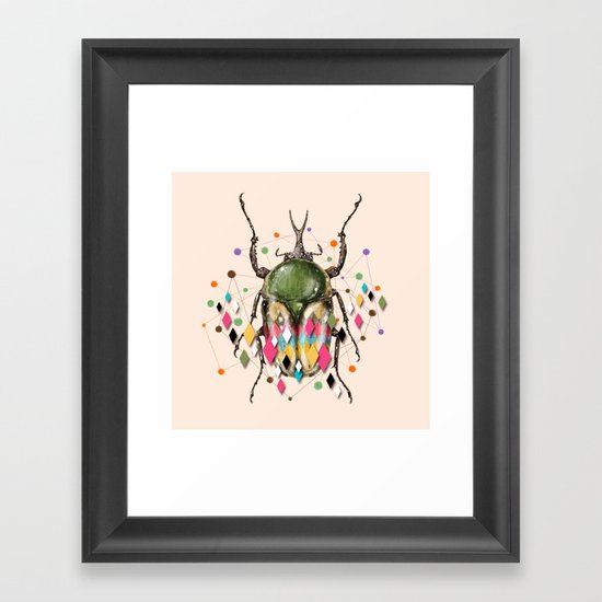 Insect VII Framed Art Print