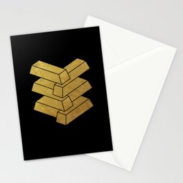 illusory (Black) Stationery Cards