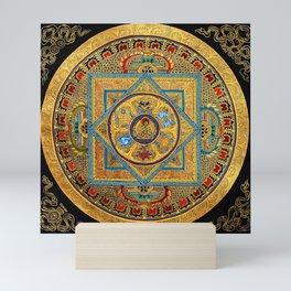 Buddhist Hindu Mandala 23 Mini Art Print