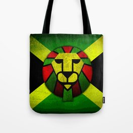 Rasta Lion. Tote Bag