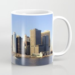 Manhattan seen from the East River Coffee Mug