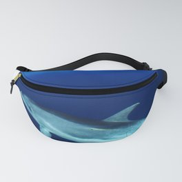 Dolphin, blue and sea Fanny Pack