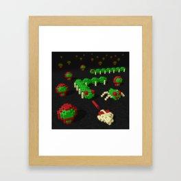 Inside Centipede Framed Art Print