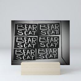 Bear Scat Mini Art Print