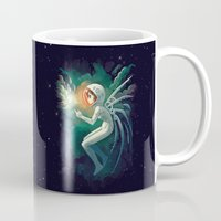 contact Mugs featuring Contact by Freeminds