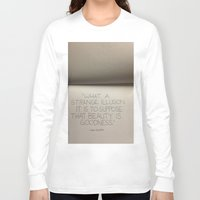 illusion Long Sleeve T-shirts featuring illusion by Elizabeth Jaros