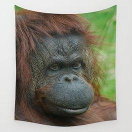 Female Orangutan Wall Tapestry