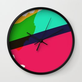 Paint Brush Wall Clock