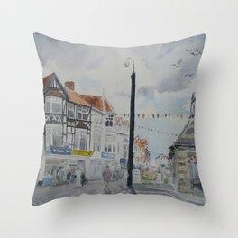 Sheringham High Street Throw Pillow