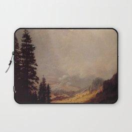 The Matterhorn By Albert Bierstadt | Reproduction Painting Laptop Sleeve
