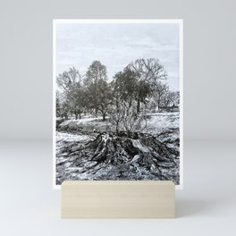 The Giving Tree, Congress Park, Saratoga Springs NY, Broadway, shel Silverstein Mini Art Print