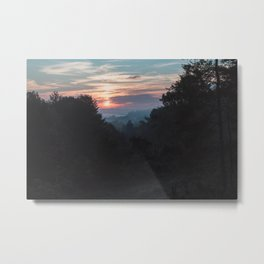 Sunrise Over Athens, Ohio Metal Print