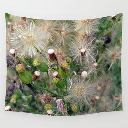 Summer Wildflowers Dandelion Field Wall Tapestry