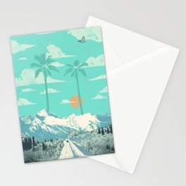 TROPICAL WINTER Stationery Cards