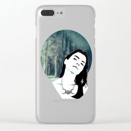 Witch In the Woods Clear iPhone Case