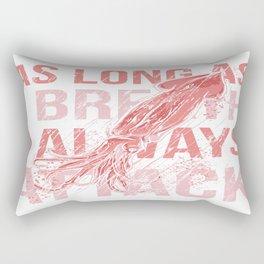 I Always Attack Rectangular Pillow