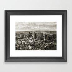 Melbourne City Framed Art Print