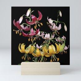 Martagon Lily Trio Mini Art Print