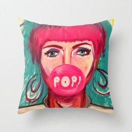 80's POP Throw Pillow
